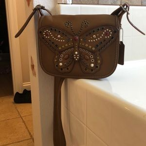 Beautiful Coach butterfly crossbody.
